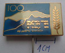 PD JAPETIC, Samobor  CROATIA,  Climbing Alpinisme Bergsteigen Alpinismo SKII  PINS BADGES Z3 - Alpinism, Mountaineering