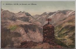 Mettelhorn, 3410 M Bei Zermatt, Und Triftkette - Monopol-Postkarte - VS Valais