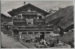 Hotel-Pension Burgener - Saas-Fee - Photo: Brügger - VS Valais