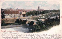 Allemagne, Rastatt V. D.Friedrichsfeste, Cachet Ovale Bahnpost 22.9.00 (22900) - Rastatt