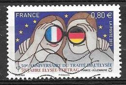 2013 0.80E France-Allemagne Fiftieth Anniversary, Used - Frankrijk
