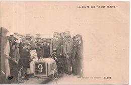 Coupe Des Tout Petits - Départ Du Coureur Sabin - Sport Automobile