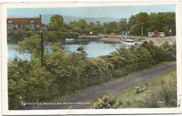 Z3320 Ashton Under Lyne - Stamford Park - Boating Lake / Viaggiata 1963 - Inghilterra