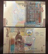 RC) KUWAIT BANK NOTE 1/4 DINAR ND 2006 UNC - Kuwait
