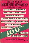 Mystère Magazine N° 100, Mai 1956 (BE+) - Opta - Ellery Queen Magazine