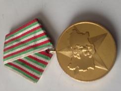 Medalla 40 Aniversario De La Victoria De La Revolucion Socialista. Bulgaria Comunista. 1944-1984. Ejército Búlgaro - Medallas Y Condecoraciones