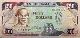 C)JAMAICA 50 DOLLARS 2010 - 1 PC UNC NEW BANK OF JAMAICA COMMEMORATIVE - Jamaica