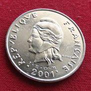 French Polynesia 50 Francs 2001 KM# 13 Polynesie Polinesia - Polynésie Française