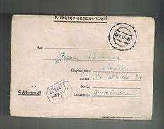 1942 Arnswalde Germany Oflag 2B Prisoner Of War POW Camp Letter Cover To Lublin - Poland