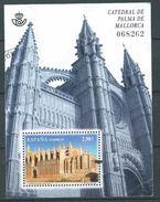 ESPAGNE SPANIEN SPAIN ESPAÑA 2012 M/S PALMA DE MALLORCA CATHEDRAL 2,90€ SC SH3868 ED HB4743 YV BF215-4427 MI B226-M - 2011-... Usati