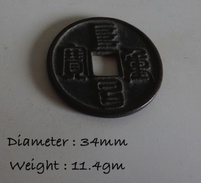 Ancient China Dynasty Coin Unknown Unchecked 34mm - China
