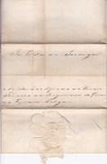 LOPPEM Attestation Accordée Au Baron Alfred De VRIERE En 1869 Officier Régiment Des Guides Au Nom Du Roi Du Portugal - Documents Historiques