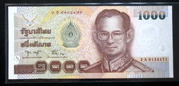 Thailand Banknote 1000 Baht Series 15 P#108 Type 1 SIGN#75 UNC - Thaïlande