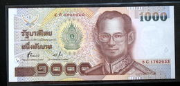 Thailand Banknote 1000 Baht Series 15 P#108 Type 1 SIGN#72 UNC - Thailand