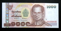 Thailand Banknote 1000 Baht Series 15 P#115 Type2 SIGN#81 UNC - Thailand
