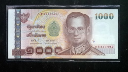 Thailand Banknote 1000 Baht Series 15 P#115 Type2 Replacement 0Sพ SIGN#81 UNC - Thailand