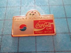Pin211A Pin´s Pins / Beau Et Rare : COCA-COLA : 1990 MONDIAL DE FOOT ITALIE DRAPEAU COREE DU SUD - Coca-Cola