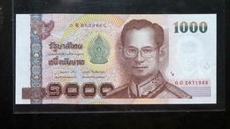 Thailand Banknote 1000 Baht Series 15 P#115 Type2 SIGN#85 UNC - Thailand