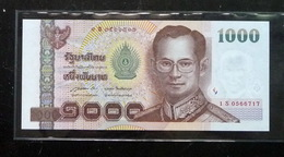 Thailand Banknote 1000 Baht Series 15 P#115 Type2 SIGN#85 Replacement 1Sพ UNC - Thailand