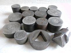Déstockage Lot Matrice De Frappe Imprimerie Ou Emboutissage? Lettres & Chiffres. - Tools