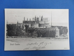 Old Postcard Of Deal Castle,Kent,England,Y34. - Angleterre