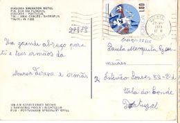 Portugal &  Postal,Madeira, Sheraton Hotel, Funchal Para Vila Do Conde 1973 (757) - 1910-... République