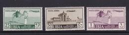 Italy-Colonies And Territories-Libya A38-40 1939 13th Tripoli Fair Mint Never Hinged Set - Libya