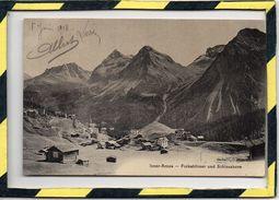 INNER-AROSA. - . FURKAHORNER UND SCHIESSHORN - CIRCULEE EN 1910 - GR Grisons