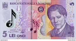 ROMANIA 5 LEI 2005 (2011) P-118 UNC  [RO118b] - Romania