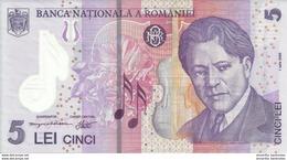 ROMANIA 5 LEI 2005 (2014) P-118 UNC  [RO118] - Romania