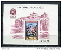 España 1989. Edifil 3012 ** MNH. - Blocs & Feuillets