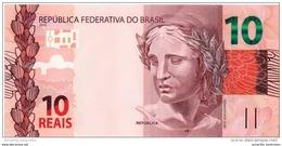 BRÉSIL 10 REAIS 2010 (2012) P-254 NEUF [BR876a] - Brazilië