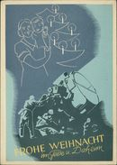 Frohe Weihnacht Im Felde U. Daheim, Herausgegeben Vom Luftgaukommando VI, Entwurf Gefr. Fick, O 1941, Selten! (23777) - Lettres & Documents