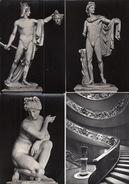 6 POSTCARDS : CITTA' DEL VATICANO - Museo Di Scultura  - (4 Scans) - Vaticaanstad