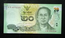 Thailand Banknote 20 Baht Series 16 P#123 SIGN#85 UNC - Thailand