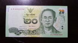 Thailand Banknote 20 Baht Series 16 P#123 SIGN#87 UNC - Thailand