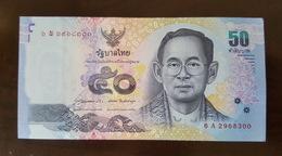 Thailand Banknote 50 Baht Series 16 P#120 SIGN#85 UNC - Thailand