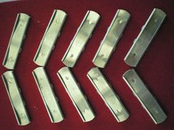 LOT DE 10 CLIPS POUR CARTOUCHE 7,5 MM - Armas De Colección