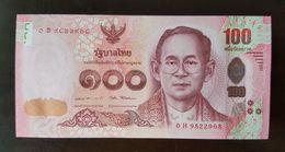 Thailand Banknote 100 Baht Series 16 P#125 SIGN#87 UNC - Thailand