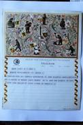 Acien Télégramme Belgique Izegem TELEGRAM Chasse Mineur Illustrateur N. Acket - Stamped Stationery
