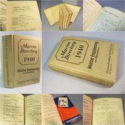 ~ LIVRE MARINE DIRECTORY 1940 # Mer Marine Bateau Flotte Guerre Boat Book War - Boten