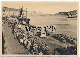 PORT-VENDRES - N° 21 - CARAVANE DE MILICIENS TRAVERSANT PORT-VENDRES (GUERRE D'ESPAGNE) - Port Vendres