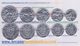 KATANGA  SET 5 COINS / MONEDAS  2.017  2017  SC/UNC  T-DL-12.124 - Katanga
