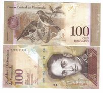 100 Bolivares VENEZUELA  29.10.2013 UNC UNCIRCULATED FDS SERIE AA  LOTTO 890 - Venezuela