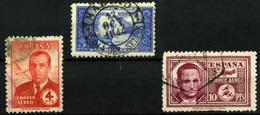 España Nº 983 Y 991/2. Años 1944-45 - 1931-Hoy: 2ª República - ... Juan Carlos I