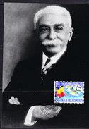 Liechtenstein 1994 100Y Olympic Comite / Pierre De Coubertin 1v Maxicard (LIEMC110) - Maximumkarten (MC)
