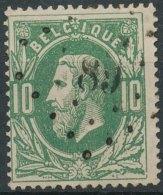 N° 30, TB Obl Centrale 'LP89' Couvin, Nipa +7,5? - 1869-1883 Léopold II