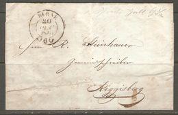 Lettre De 1840 ( Suisse ) - ...-1845 Préphilatélie