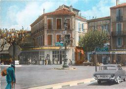 """CPSM FRANCE 13 """"Aubagne, Place Pasteur"""" - Aubagne"""