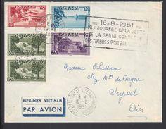VIETNAM - 1951 - Enveloppe De Dalat Par Avion, à Destination De Seyssel - (FR) - TB - - Vietnam